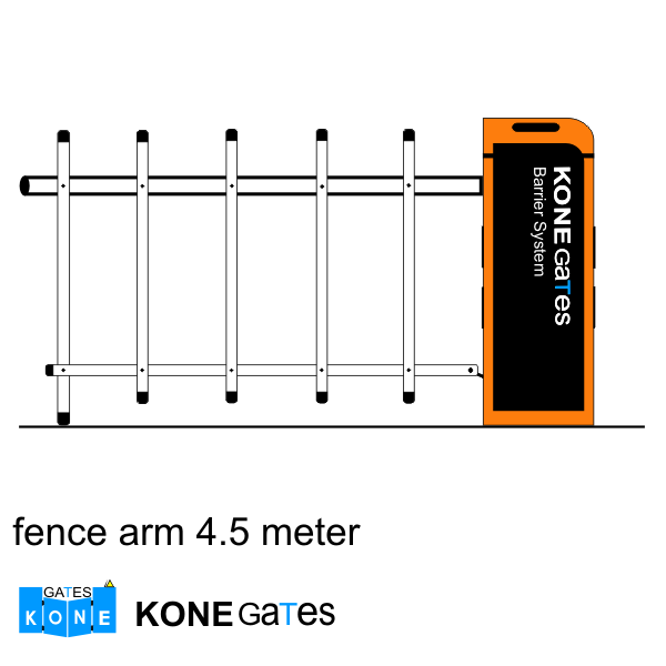 fence arm barrier