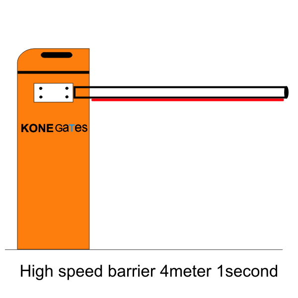 high speed barrier 4 meter
