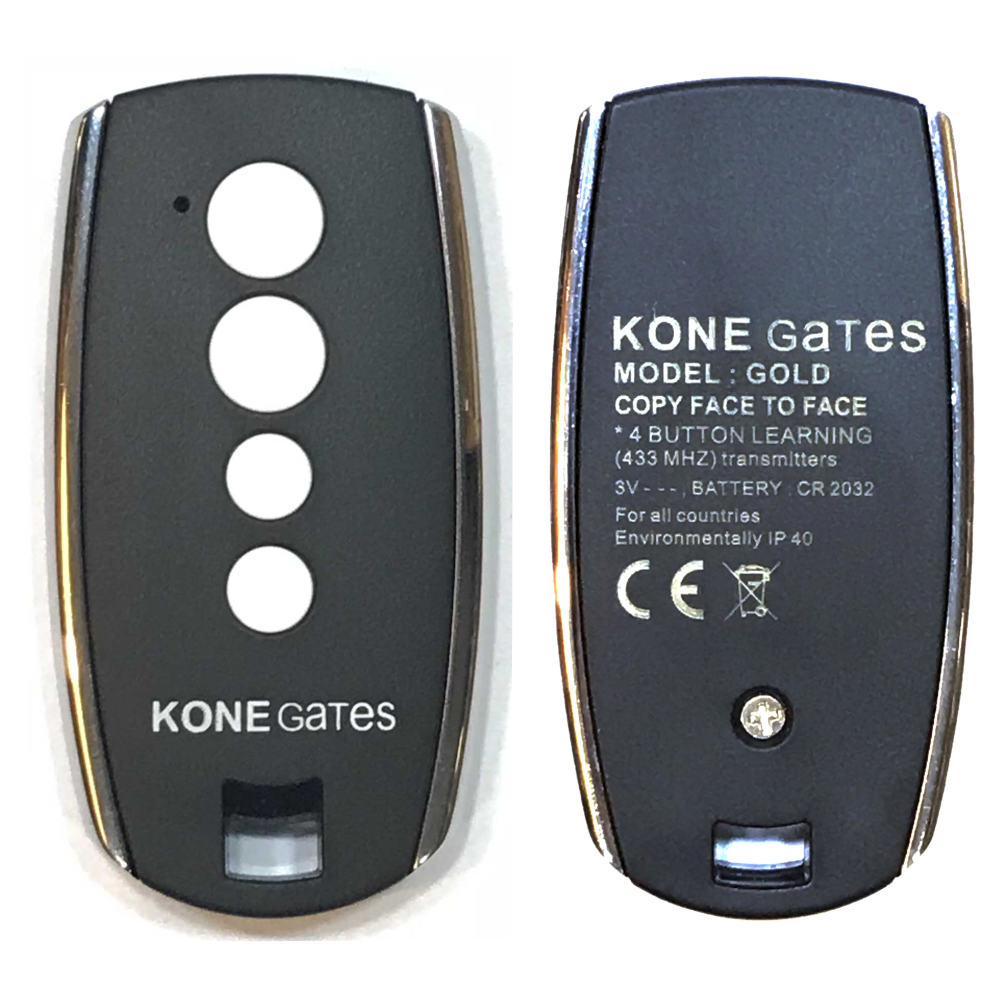 kone gates remote gold
