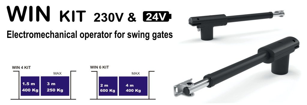 swin gates win kit 230v
